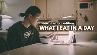 What I Eat in A Day (med school edition)