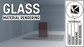 Glass Material Tutorial - Vray 3.4 Sketchup 2016-2017