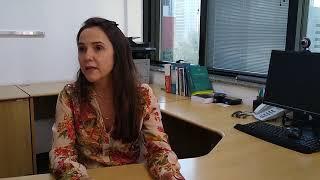 A diretora-executiva da Escola Judiciária Eleitoral, juíza Roberta Fonseca, fala sobre as novidades do programa Eleitor do Futuro.