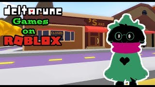 The Best Deltarune Roblox Games