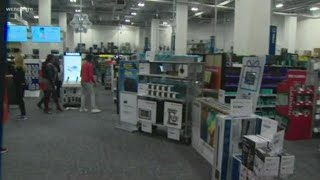 Holiday shopping underway in the Queen City