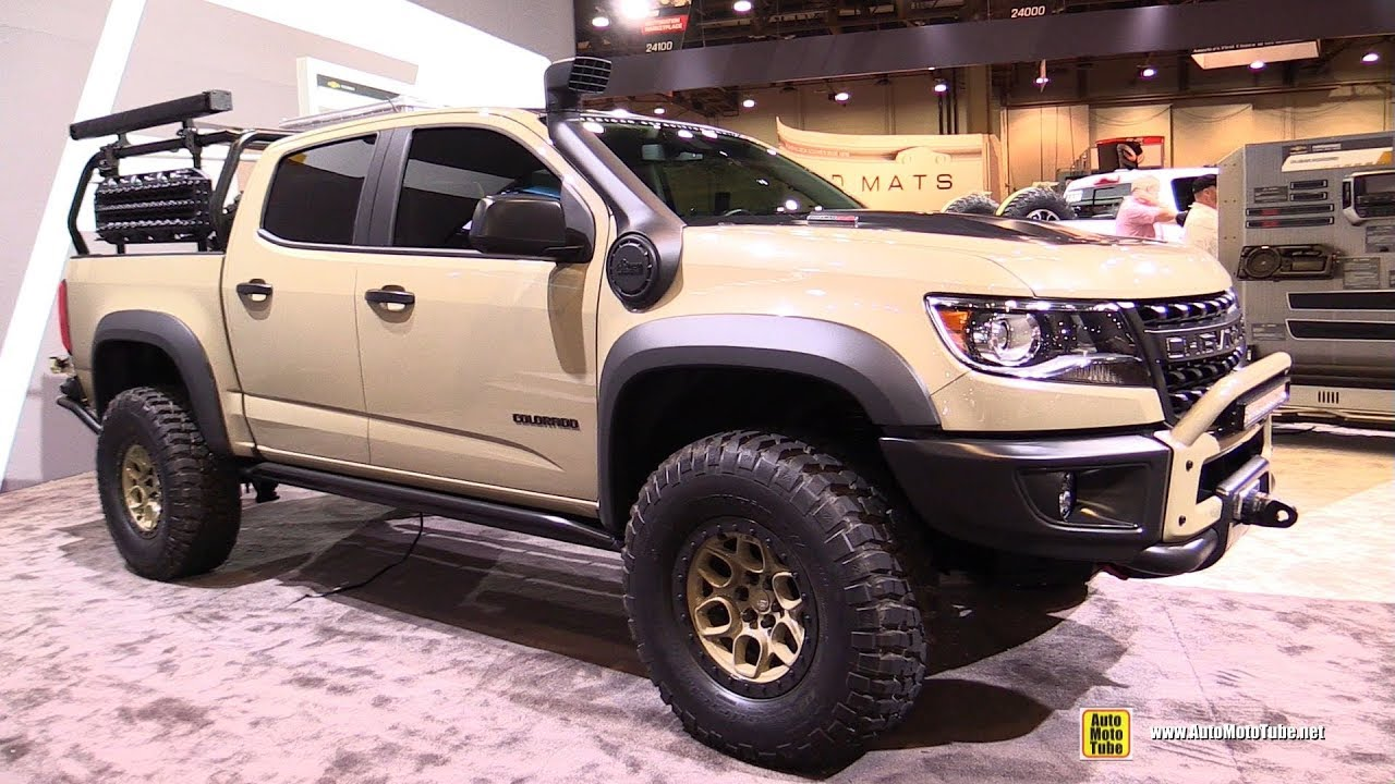 2018 Chevrolet Colorado American Expedition Vehicles Exterior Walkaround 2017 Sema Las Vegas