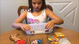 DIY Father's Day Candy Tackle Box