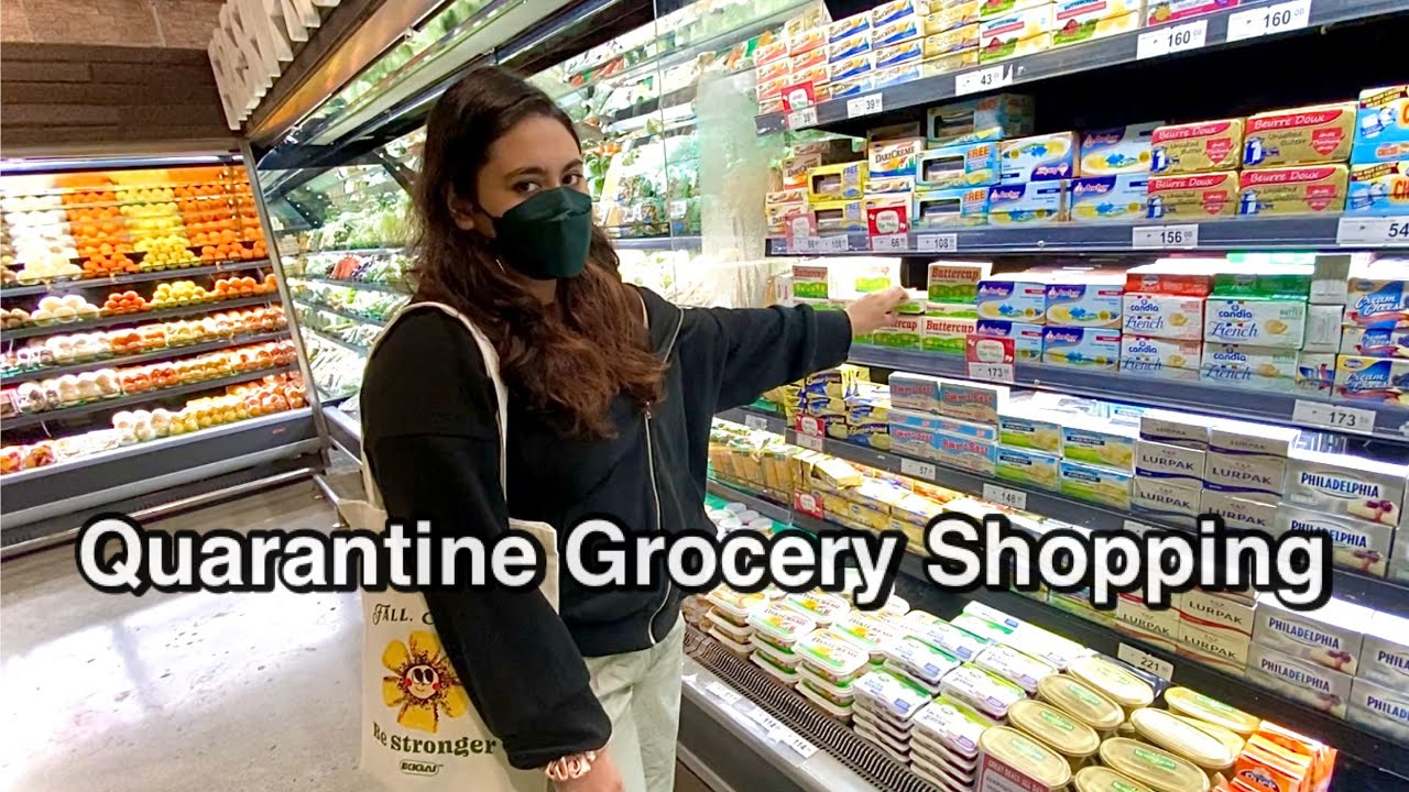 QUARANTINE GROCERY SHOPPING part 2
