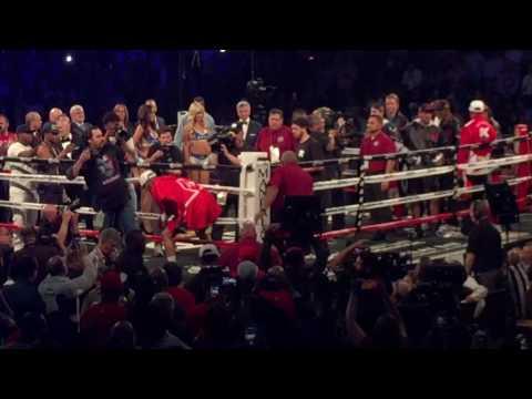 Andre Ward entrance Ward vs Kovalev 2