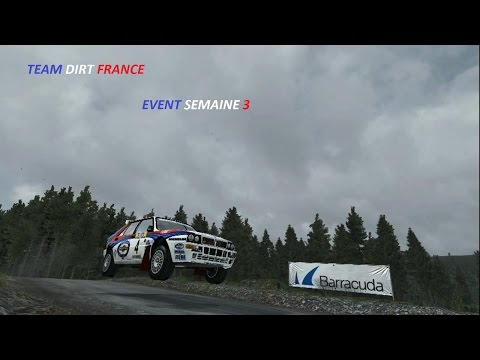 dirt rally team dirt france event semaine 3