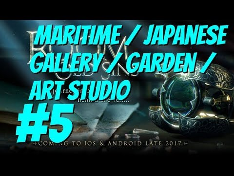 THE ROOM 4: OLD SINS iOS Part 6 Walkthrough Maritime  / Japanese Gallery / Garden / Art Studio