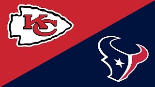 2016 NFL Week 2 Preview: Kansas City Chiefs/Houston Texans