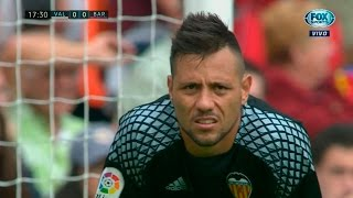 Diego Alves vs Barcelona (Home) 16-17 HD 720p (22/10/2016)