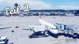 🎥 Ein Kleiner Rundgang Am Flughafen Zürich Zrh 🛫 | Teil 2 Von 2 | Snowly :