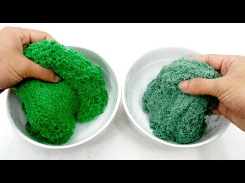 3 Testing Different Ingredient for DIY Kinetic Sand