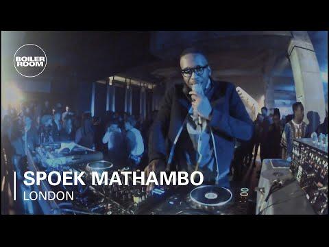 Spoek Mathambo Boiler Room DJ Set at DIESEL + EDUN present Studio Africa