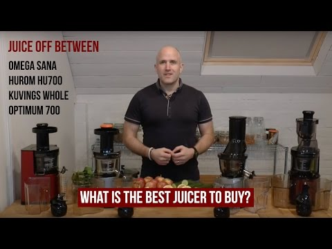 Omega vSJ 843 vs SlowStar Juicer Comparison Review - Juicing Carrots FunnyCat.Tv