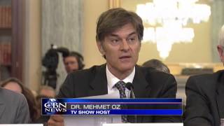 Dr. Oz in Hot Seat over Weight Loss Miracle Pills