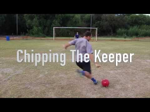 Soccer Tips  How To Chip The Soccer Ball  Chip The Keeper