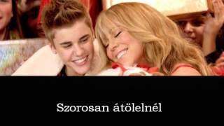 Justin Bieber Feat. Mariah Carey - All I Want For Christmas Is You magyar felirat/hungarian subtitle