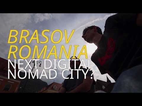 Brasov Romania: Next Digital Nomad City?  Balkan Road Trip 2016