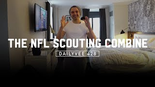 Watching the 2018 NFL Scouting Combine With VaynerSports | DailyVee 428