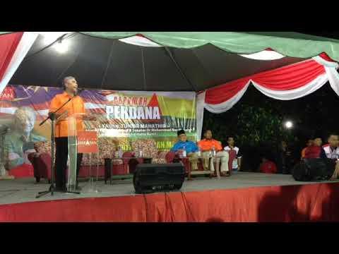 Ceramah Perdana Pakatan Harapan Negeri Perak bersama Tun Dr Mahathir Mohamad Di Larut