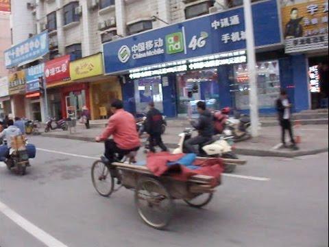 A Ride On Changgang Lu, Nanning, China