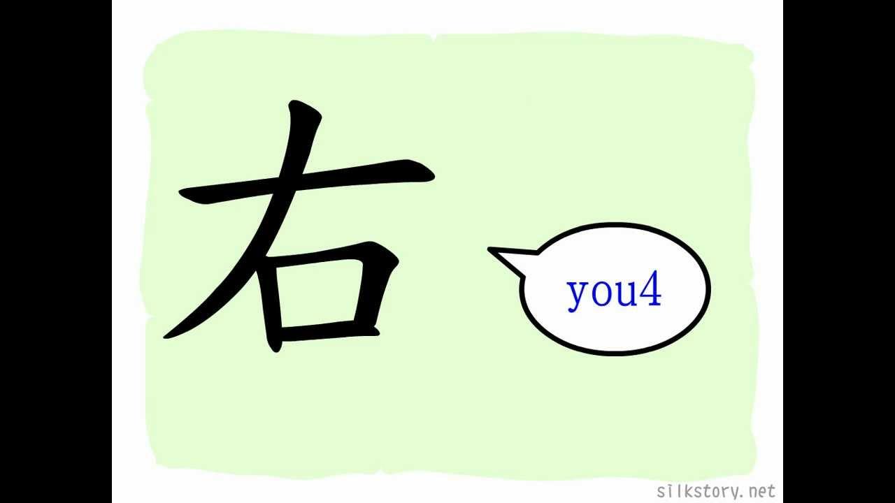 漢字的故事: 右- YouTube