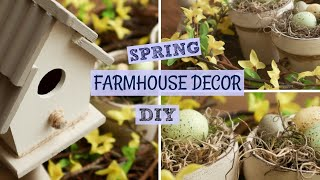 Spring Farmhouse Decor DIY