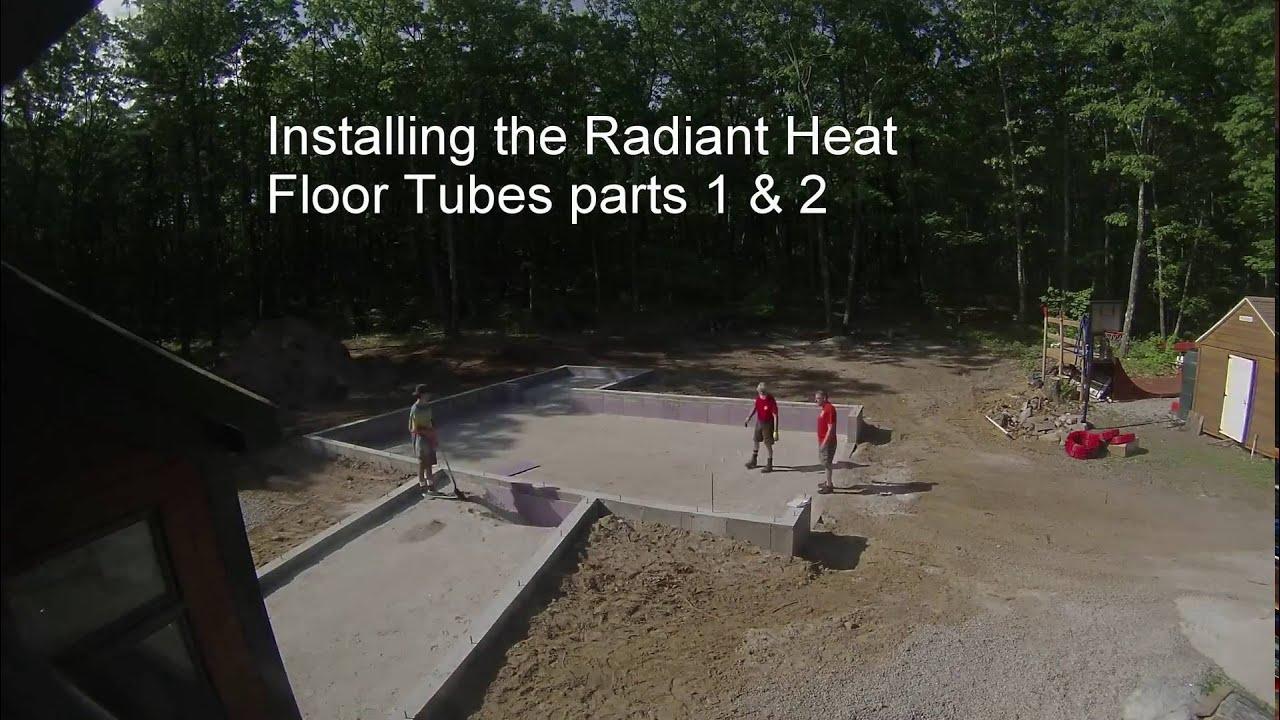Heated Floor Garage Install