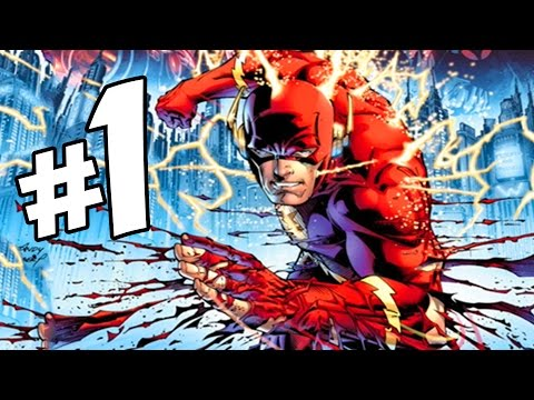 Flashpoint Issue #1 (Part 1 of 5) Full Comic Review!