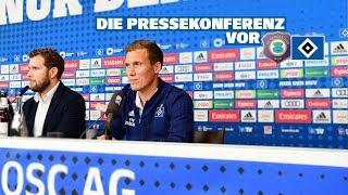 RELIVE: Die Pressekonferenz vor dem Spiel beim FC Erzgebirge Aue