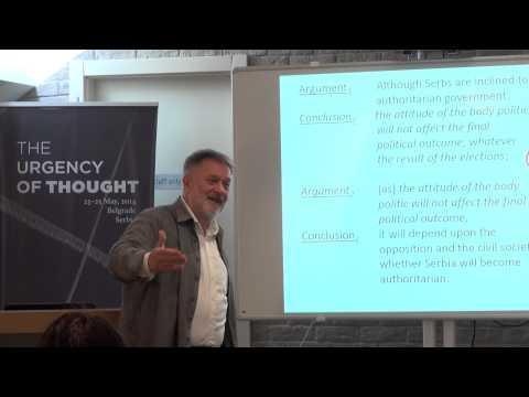 The Urgency of Thought: Rastko Močnik