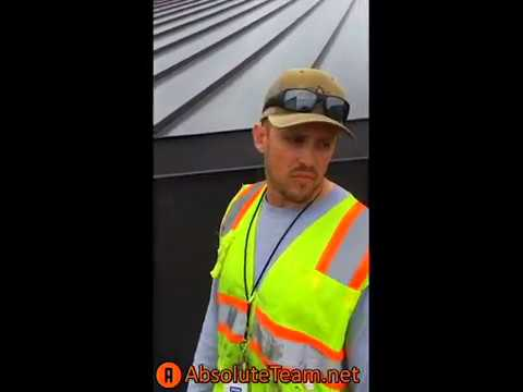 Absolute Construction - Standing Seam Metal Roofing