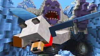 Minecraft Xbox/PS4: TU52 NEW GLIDE DLC - YETI, DRAGON AND KRAKEN MAP