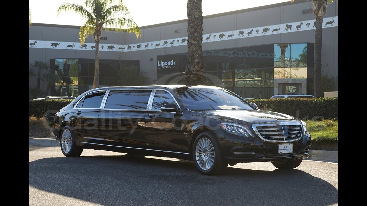 "2017 mercedes-benz s550 maybach 72"" limo limousine - youtube"