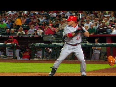 Hamilton's first ML home run