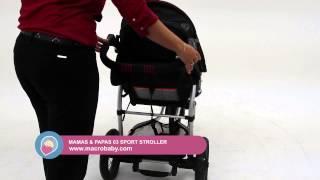 MacroBaby - Mamas & Papas 03 Sport Stroller