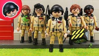 Karlchen wird ein Ghostbuster! Playmobil Polizei Film - KARLCHEN KNACK #141