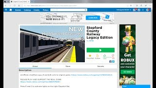 Roblox Stepford County Railway Legacy Ep1 (Winstree---Liyn By The Sea) All Station