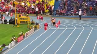 Финал - Эстафета 4х400м/4x400m Relay Усейн Болт (Usain Bolt). Чемпионат мира по легкой атлетике 2013
