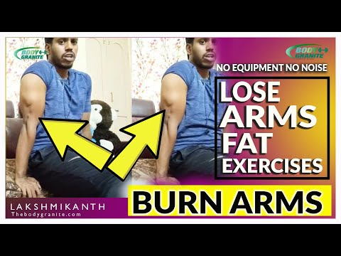ARMS WORKOUT FAT BURNING EXERCISES FOR WOMEN'S AT HOME IN TELUGU
