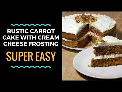 Simple & Rustic Carrot Cake
