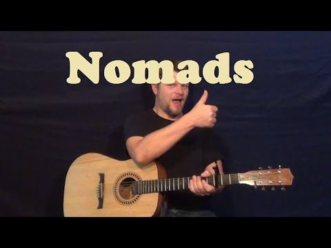 Nomads (Rich Hil) Easy Strum Guitar How to Play Tutorial