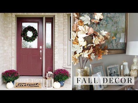 FALL DECOR TOUR 2016 🍁🍂  | House to Home 🏡 Ep 6 | Charmaine Dulak