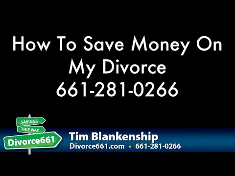 How To Save Money On My Divorce - San Fernando Valley