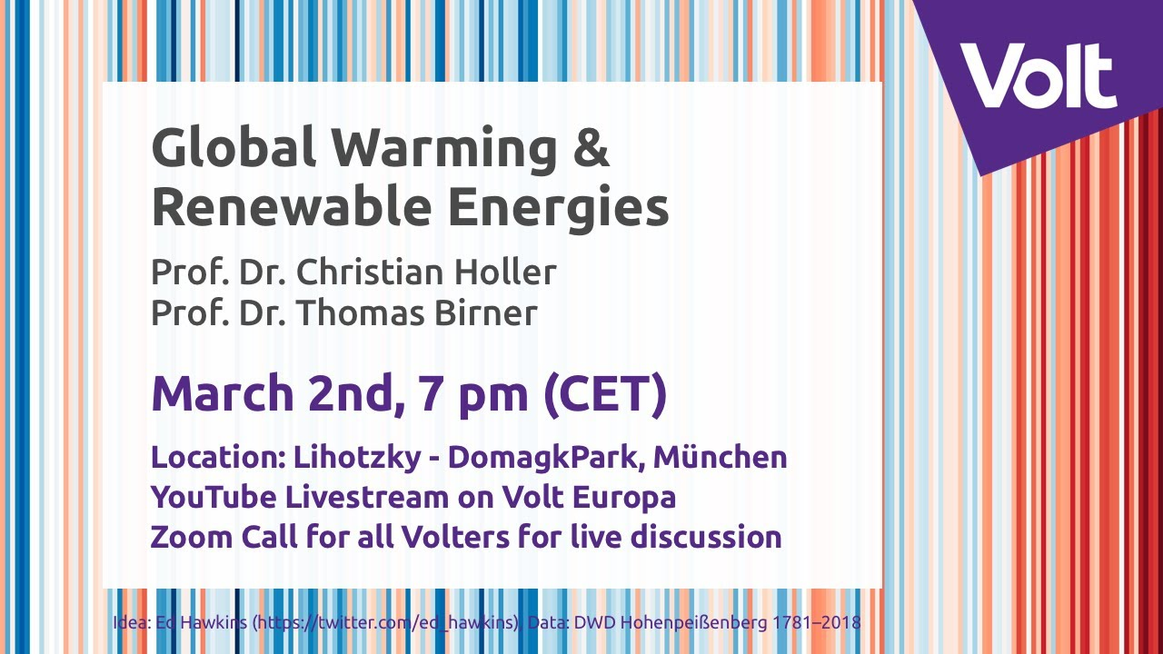 "YouTube: ""Global Warming &  Renewable Energies"" 