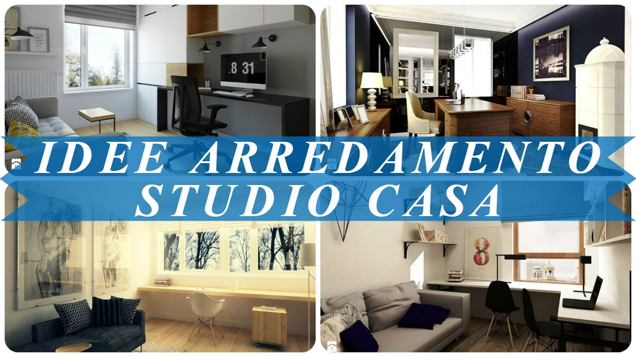Favoloso Idee arredamento studio casa - YouTube CP05
