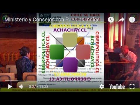 Ministerio y Consejos con Pueblos Indígenas en Chile. 28-12-18. En IQUIQUE 02