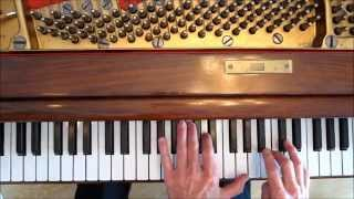 """Green Dolphin Street"", Fourth Voicings, Jazz Piano Tips,"