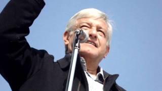 Andres Manuel Lopez Obrador resume la situacion mexicana y da esperanza en discurso