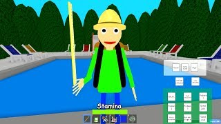 NEW ROBLOX - GO Camping With Baldi