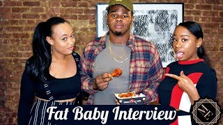 Fat Baby Discusses Music, Inspiration, and Avoids Questions During Blazin Buffalo Hot Wing Challenge